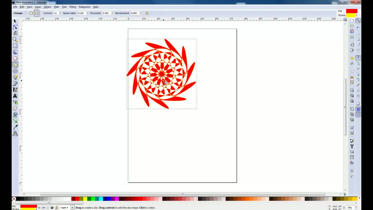 Inkscape - Les outils - img